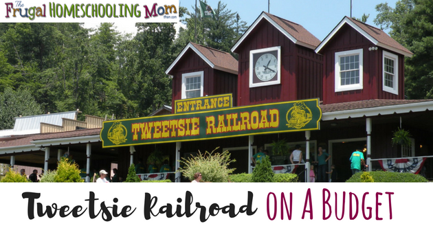 Frugal free educational field trip to Tweetsie Railroad North Carolina fa