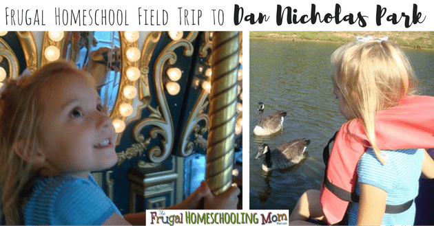 Frugal free educational field trip to Dan Nicholas Park North Carolina f