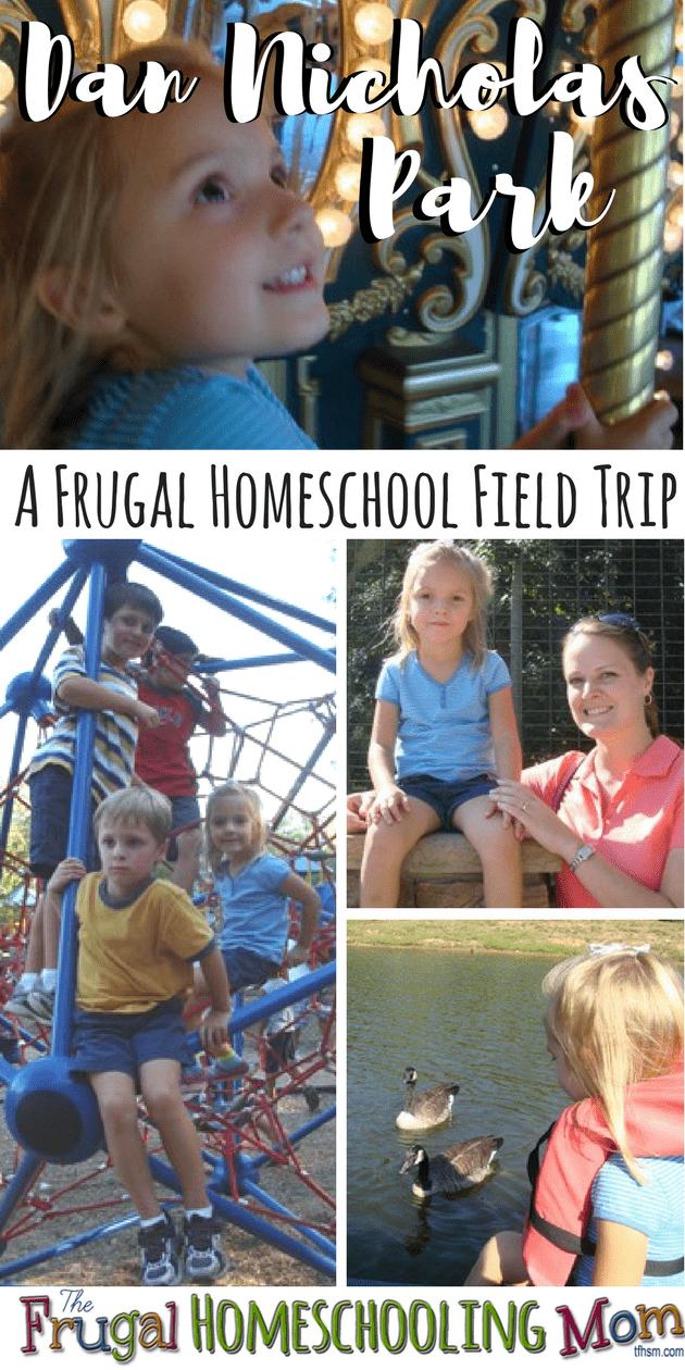 Dan Nicholas Park Homeschool Field Trip