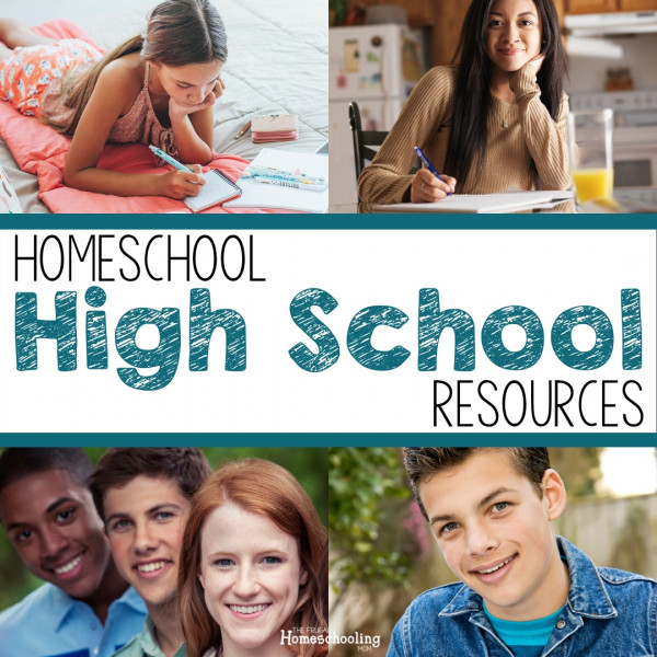 60+ Frugal & FREE Homeschool Resources for High School