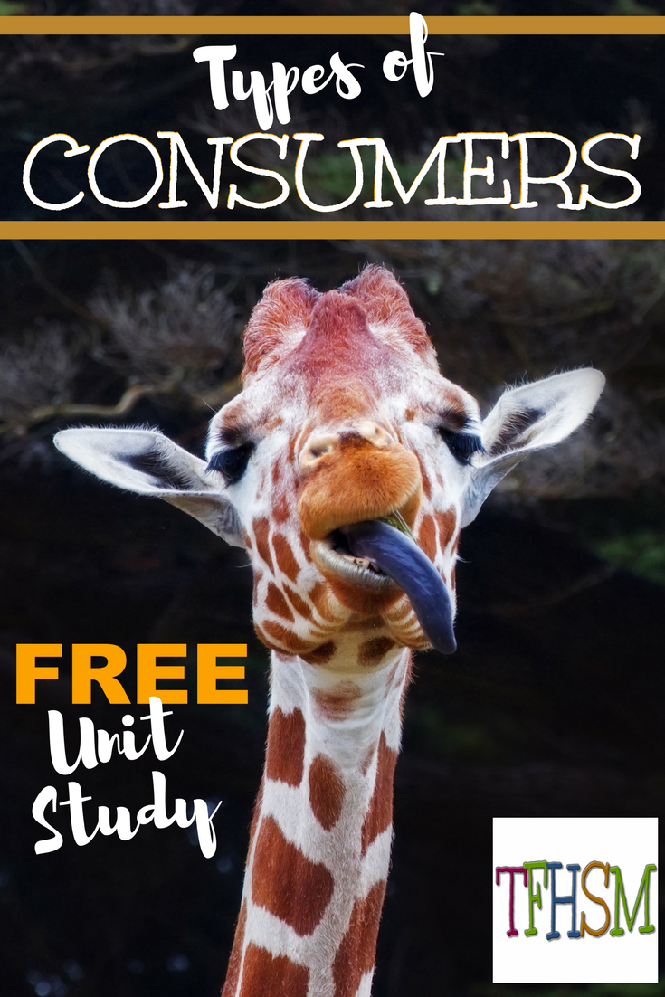 free frugal homeschool unit study types of consumers classical conversations cycle 2 week 2 printables videos crafts