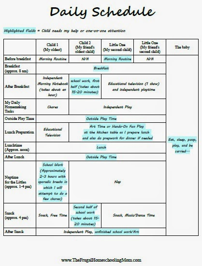 Daily Homeschool Schedule Template from www.tfhsm.com