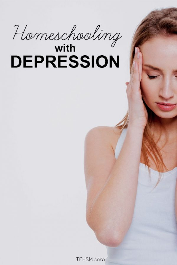 Homeschool Mom Depression: How to Cope