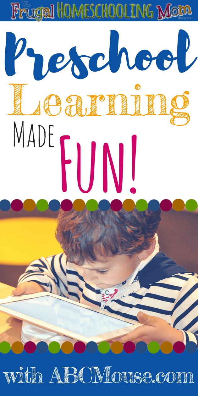 Fun and Easy Independent Preschool Learning Activities during Summer ABC Mouse