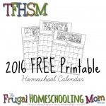 Free Homeschool Comics Planner