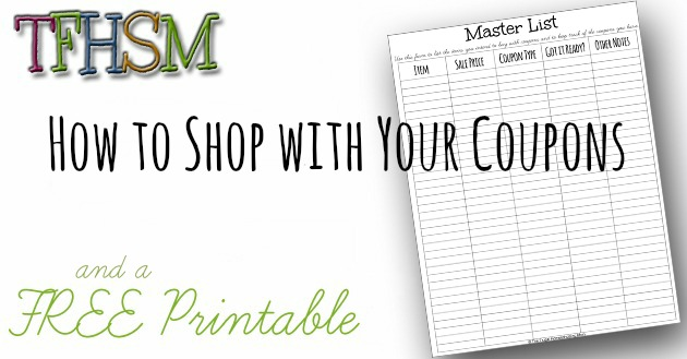 The Frugal Homeschooling Mom Master List for Extreme Couponing
