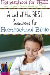bible based homeschooling resources free printables frugal homeschool mom