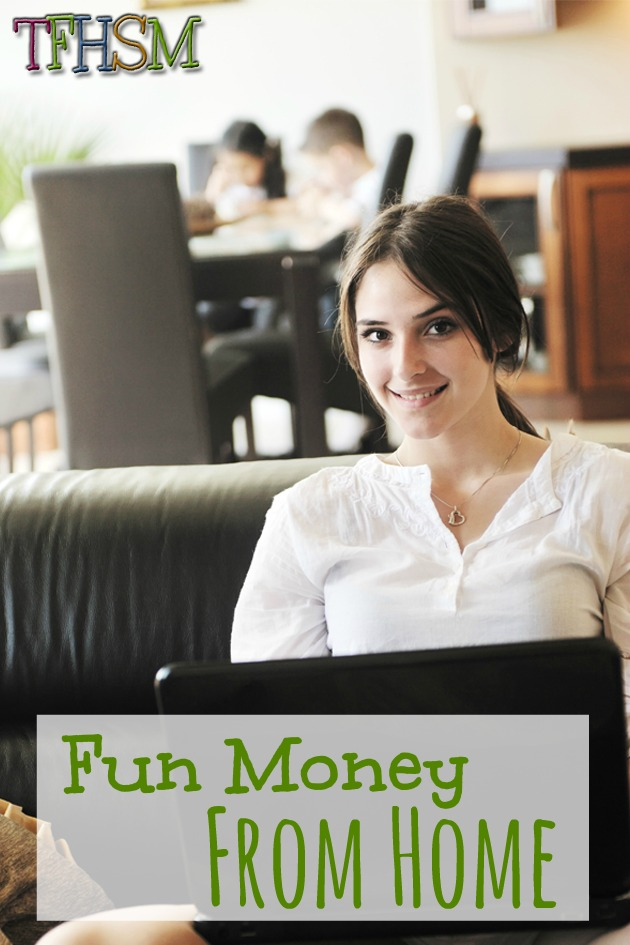 Fun Money from Home for Homeschool Moms