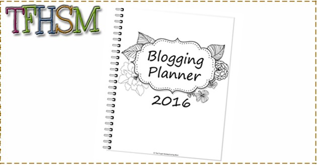 The Frugal Homeschooling Mom blogging planner calendar