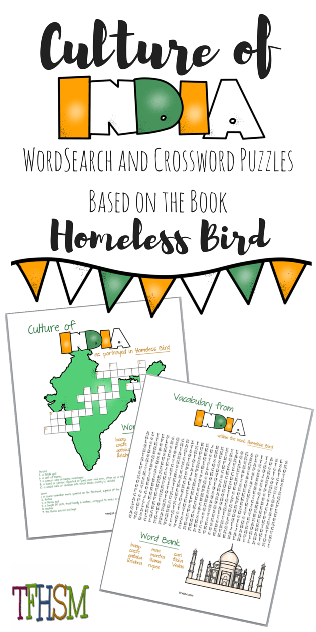 Free Frugal Homeschooling Mom Printables Resources Lesson Plans for Homeless Bird by Gloria Whelen Sonlight