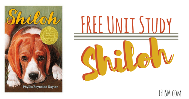 free homeschool unit study shiloh book tfhsm f