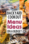 Impressive Backyard Cookout Menu Ideas - on a Budget!
