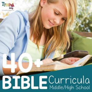 Top Middle and High School Bible Curriculum