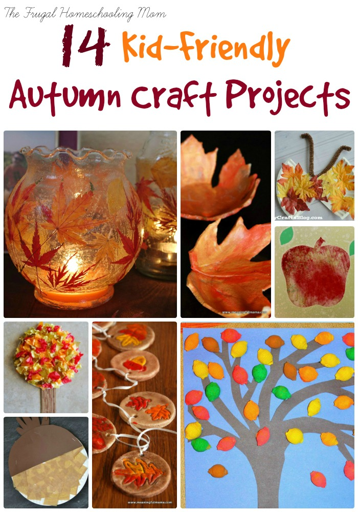 fall craft ideas 14 fall craft projects for busy homeschool the 1978