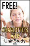 Free Charlotte's Web Unit Study