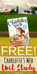 Free Homeschool Charlotte's Web Unit Study Printables