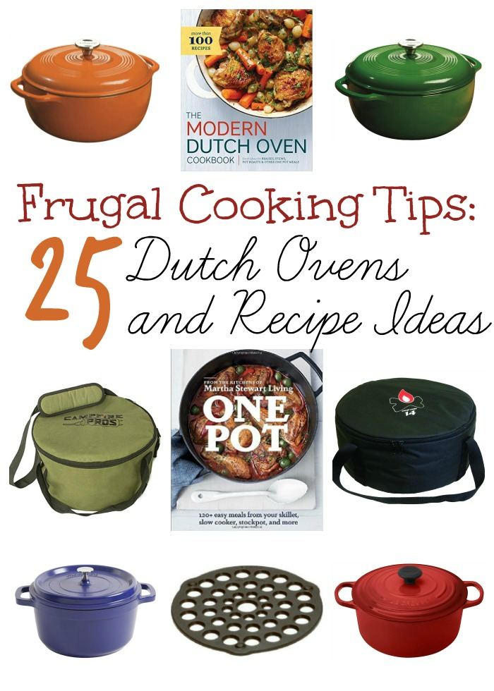 Best 25 Dutch Colonial Exterior Ideas On Pinterest: Frugal Cook Tips: Top 25 Dutch Ovens And Recipe Books