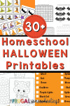 Free Homeschool Halloween Printables