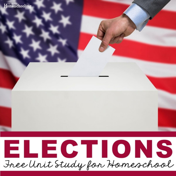 elections unit study for kids