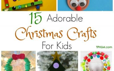 15 Adorable Homemade Christmas Crafts for Kids