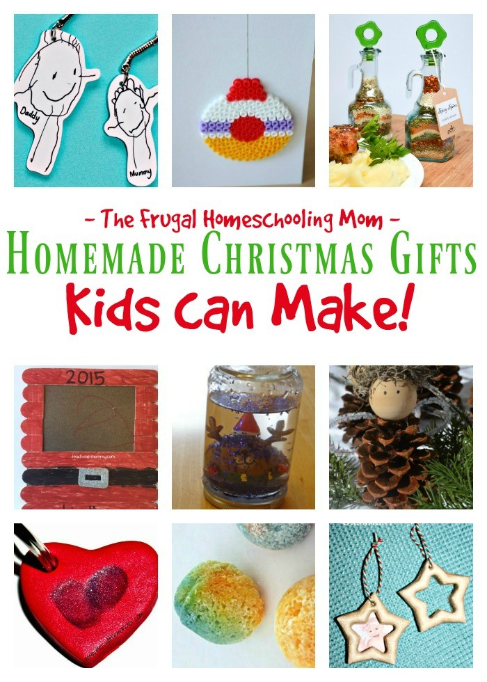 Christmas Gifts that Your Kids Can Make – The Frugal Homeschooling ...