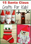 Fun Cheap Frugal Santa Claus Crafts for Kids Frugal Homeschooling Mom