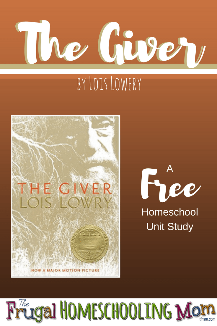 free homeschool unit study for the giver by lois lowery the frugal