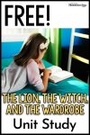 The Lion the Witch and the Wardrobe Free Unit Study
