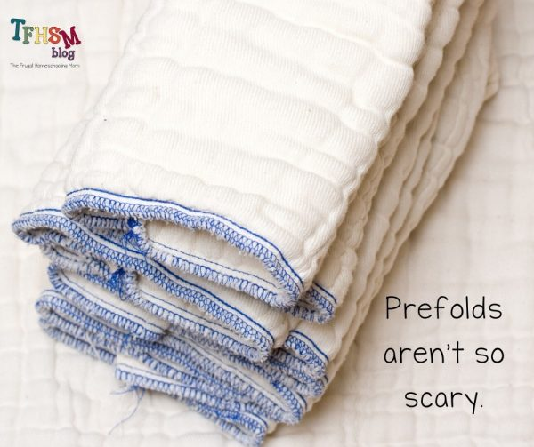 Prefold Diapers aren't Scary