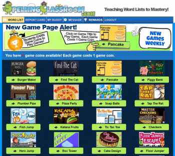 Homeschool Spelling Online Games