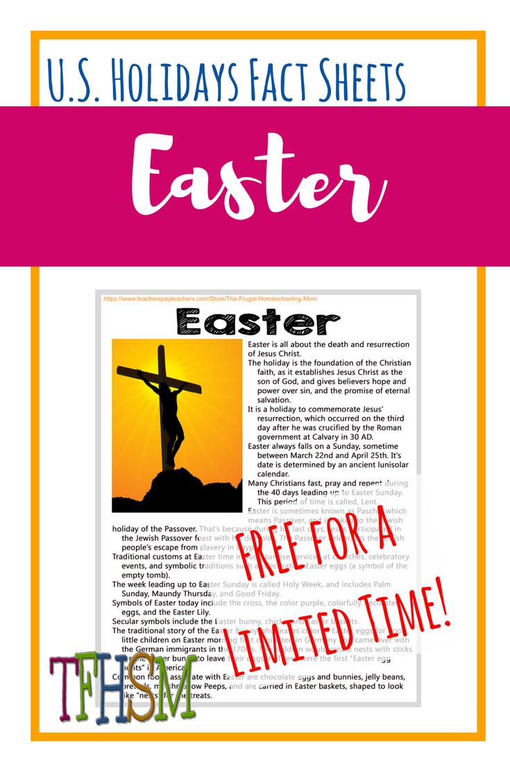 Easter Free homeschool printable copywork notebooking