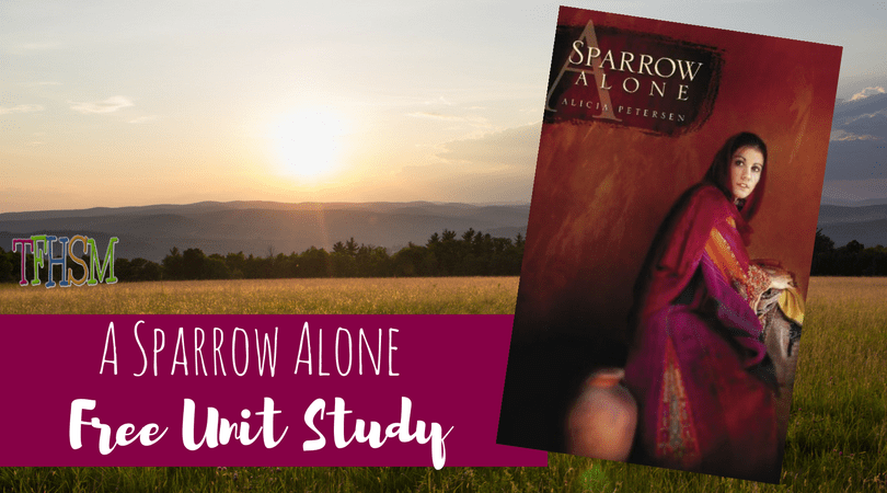 Free Homeschool Unit Study A Sparrow Alone Printables Resources Lesson Plans