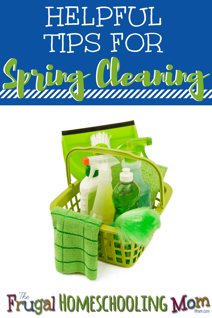 Helpful Tips for Homeschool Spring Cleaning