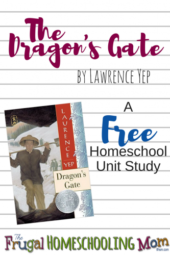 Dragon's gate Free Homeschool Unit Study printables videos educational activities
