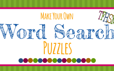 "FREE ""Make-Your-Own"" Printable Wordsearch Puzzles"