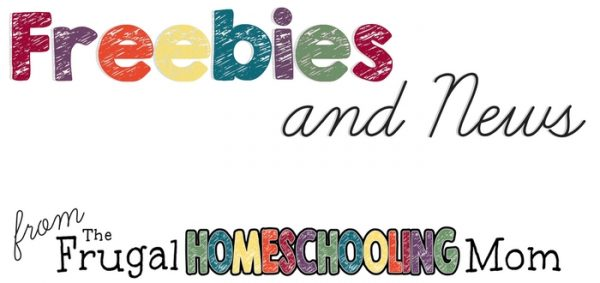 how to subscribe for homeschool freebies and news from the frugal homeschooling mom