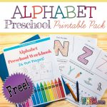 Free Alphabet Worksheets for Preschool