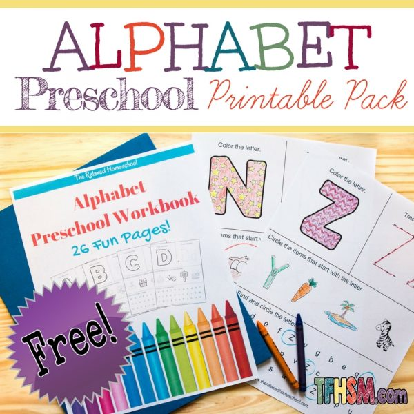 Free Alphabet Worksheets – The Frugal Homeschooling Mom aka TFHSM