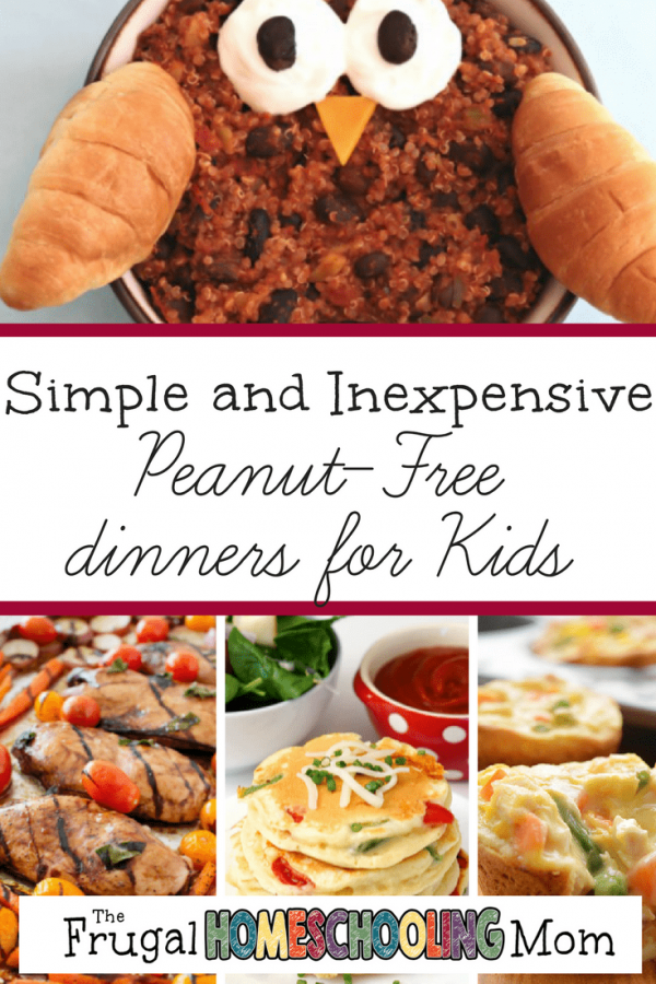 Peanut free Dinner Ideas for Kids