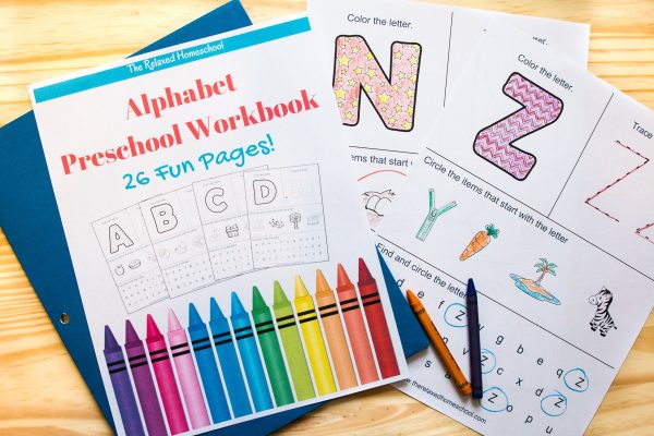 free alphabet and letters worksheets for preschoolers