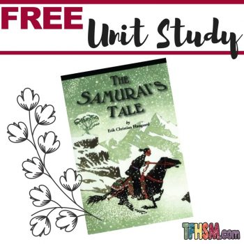 free printables unit study resources for The Samurai's Tale s