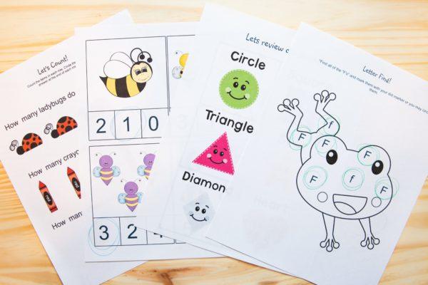 full print and go preschool curriculum