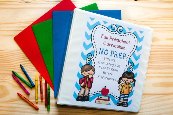preschool curriculum printable