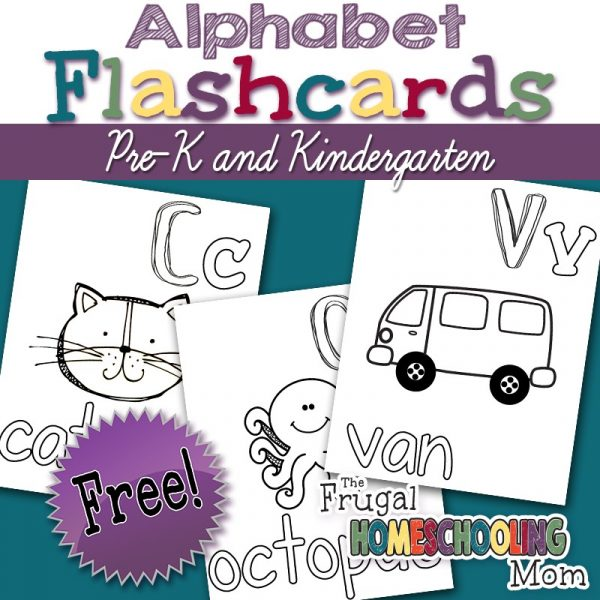 photo regarding Alphabet Flash Cards Printable Black and White referred to as Printable Alphabet Flashcards For Pre-K and Kindergarden