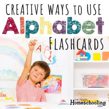 FREE Printable Alphabet Flash Cards to Color: And How to Use Them!