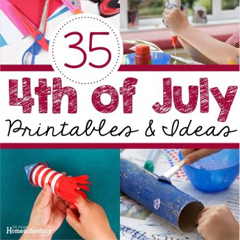 4th of July Free Printables Crafts Unit Study Ideas