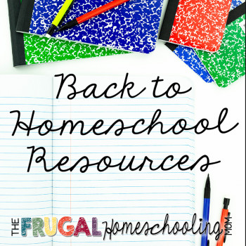 Free and Frugal Back to Homeschool Printables and Resources: The ULTIMATE List