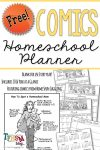Free Homeschool Comics Planner