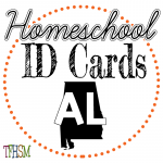 Homeschool ID Cards - Alabama