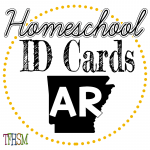 Homeschool ID Cards - Arkansas